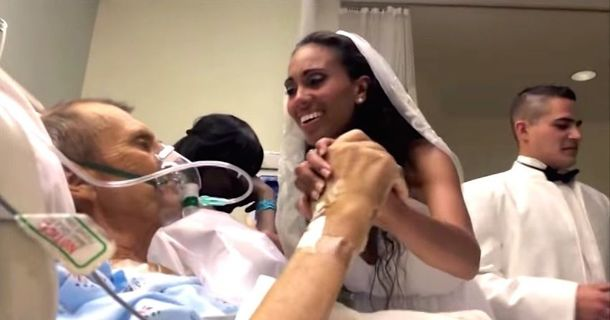 They Say A Woman's First Love Is Her Father: This Bride Just Proved It
